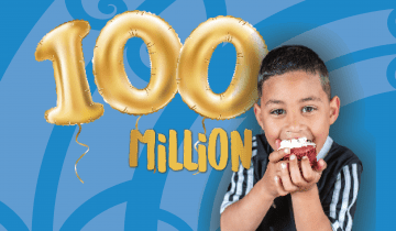 $100 million celebrations